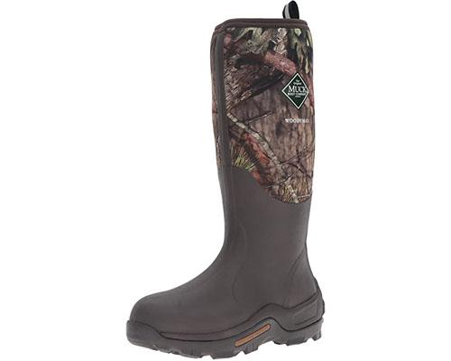 Muck Boots Men's Woody Max (New Camo) Rain Boot