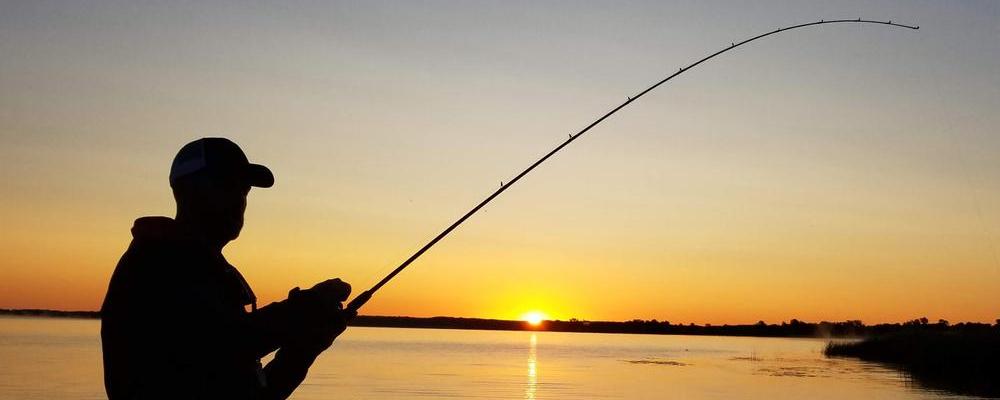 fishing adventure starts here