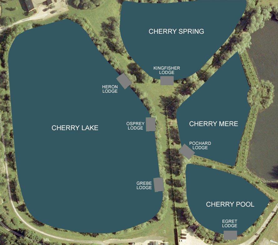 Cherry Lakes Lake Map