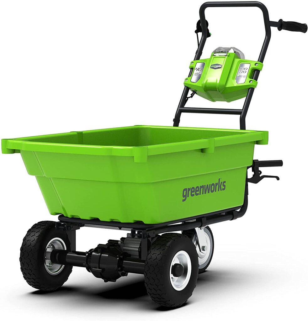 Greenworks Electric Fishing Trolley