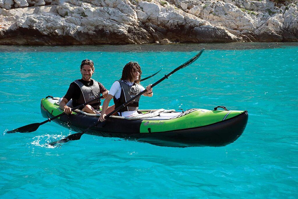 Sevylor Inflatable Sea Fishing Kayak