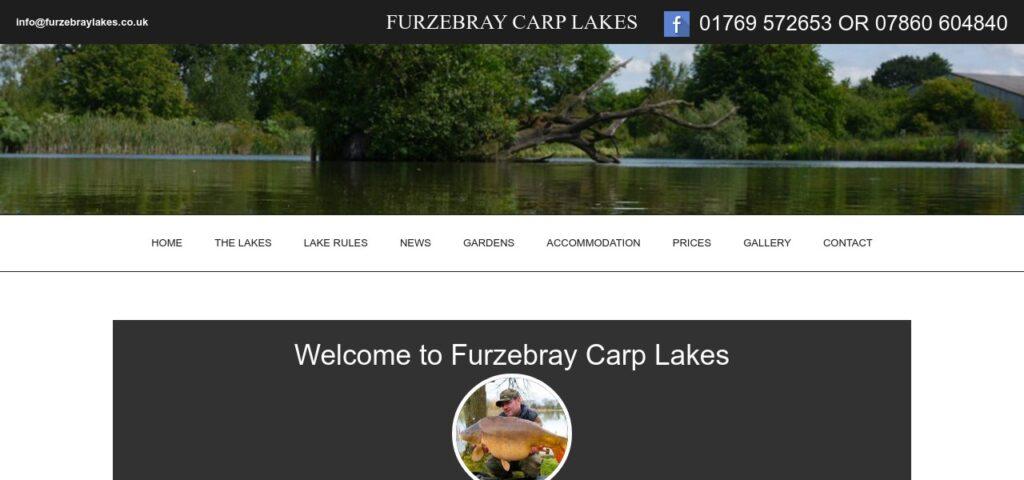 Furzebray Specimen Carp Day Ticket Lake Fishery, Carp Fishing Devon
