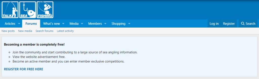 Talk Sea Fishing Forum