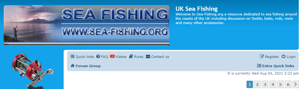 UK Sea Fishing.org Website