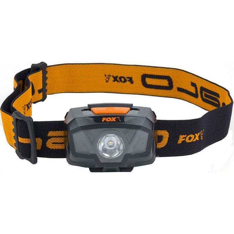 Fox Halo 300 Multi-Colour carp Head torch
